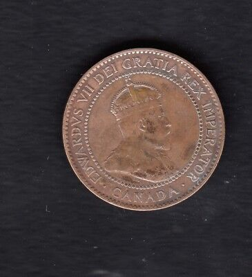 Canada Coin, 1 Cent, 1902 Year