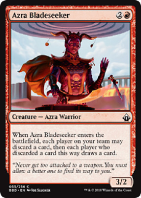 MTG - Battlebond (BBD) Red Cards 054 to 064 & 164 to 188