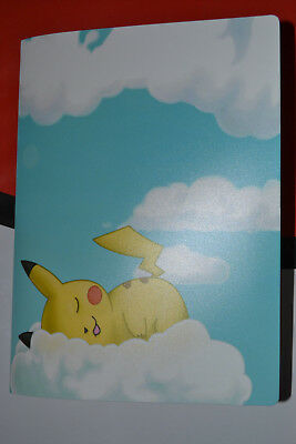 Pokemon Trading Card Album Pikachu In Clouds Design Holds Up To 112 Cards