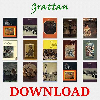 1960s & 70s GRATTAN MAIL ORDER CATALOGUE FASHION, ELECTRICAL, HOME DVD