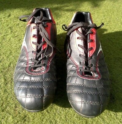 GILBERT Rugby/Football Boots Black & Red Size 4