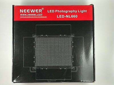 Neewer Professional Metal Bi-color LED Video Light for Studio, YouTube, Product