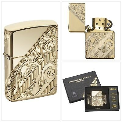 Zippo 2018 Collectible Of The Year Pocket Lighter