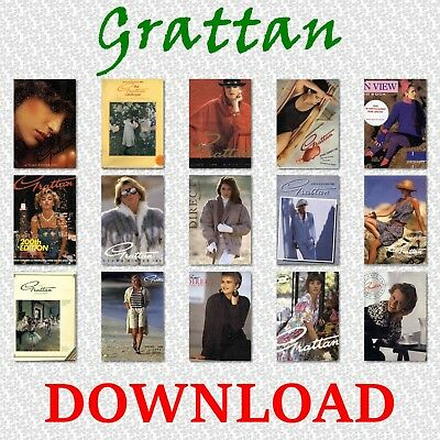 1980s GRATTAN MAIL ORDER CATALOGUE FASHION, ELECTRICAL, HOME DOWNLOAD