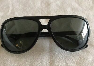6a98b2de6d ... new zealand new ray ban sunglasses black frame rb 4162 601 58 glass  polarized green lenses