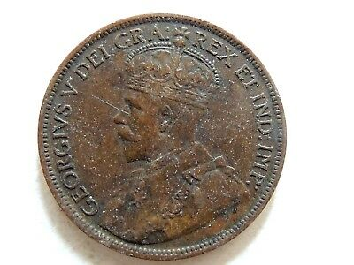 1918 Canada One (1) Cent Coin