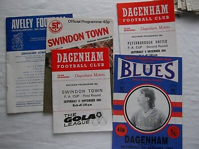 RARE: Special Train Ticket. Supporters ticket & Programmes 5  Newspapers clips