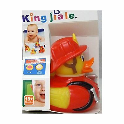 Allkindathings Children Rubber Colour Changing Heat Safety Fun Kids Bath Toy ...