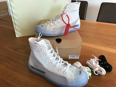 Converse X Virgil Abloh Chuck 70 OFF WHITE the ten UE 46/US 115