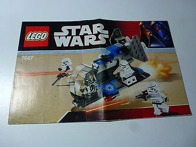 Lego Star Wars 7667 Imperial Dropship Instruction Manual
