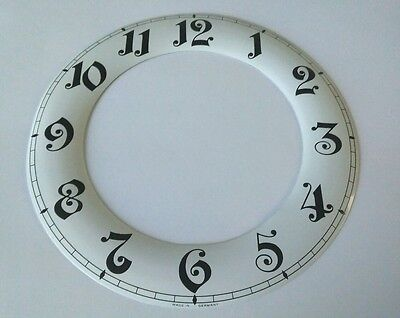 Clock Chapter/Hour Ring Aluminum Enamel style  Outside 174mm Inside 116mm Arabic