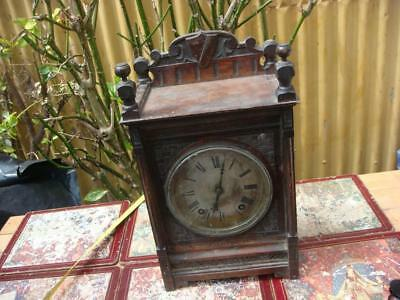 ANTIQUE W&H Mantle Clock  For Restoration or Spare / Repair