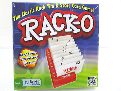 "Game Rack-O Card Milton Bradley Complete RackO Fun Parker Family ""Sealed New"" !!"