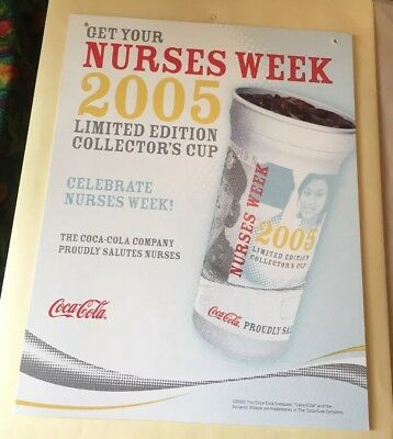 Coca Cola Nurse Week 2005 advertisement