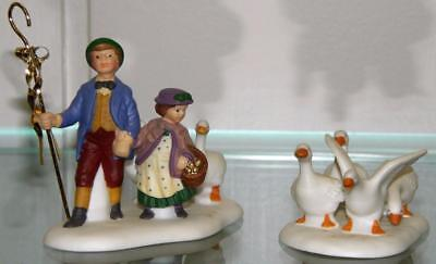 Dept 56 Six Geese A Laying Twelve 12 Days of Dickens Christmas Village NEW