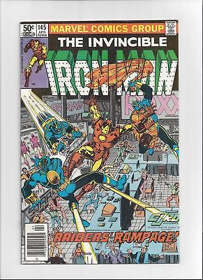 Iron Man Issue: #145 Cover Date: April, 1981- Fine/ Very Fine