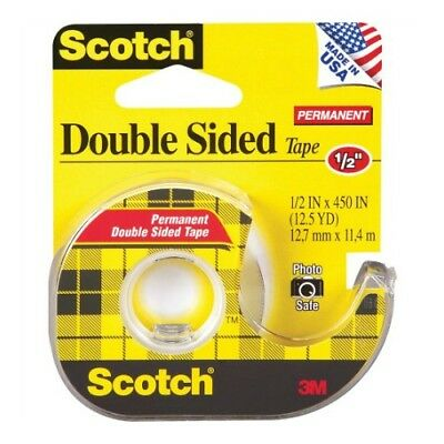 Scotch Double Sided Tape With Dispenser - MMM137