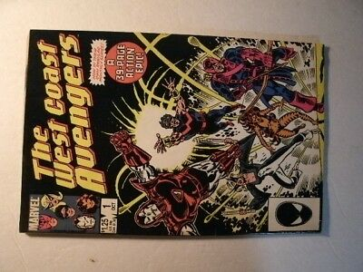 Marvel Comics: The West Coast Avengers #1  October 1985 (39 Pages)