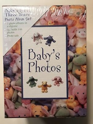 Baby's First Three Years Photo Album Set, 3 Albums