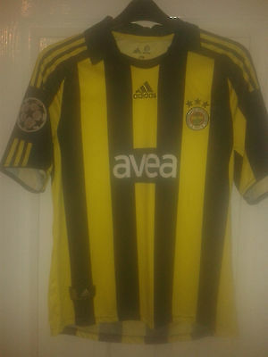 Boys Football Shirt - Fenerbahce - Home 2008-2009 - Champions League - Adidas