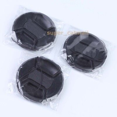 3PCS New 58mm Front Lens Cap for CANON & SONY & Nikon Free shipping