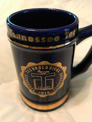 Tennessee Tech University Vintage Stein - 1960's - Perfect Condition!