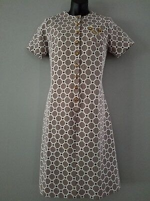 UNBRANDED vintage polyester dress(see discription for size) EUC