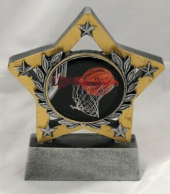 Basketball Star Trophy 130mm  Engraved FREE