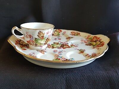VINTAGE JAMES KENT BREAKFAST TRAY .MAPLE CUP.TEA FOR 1.james kent maple odds
