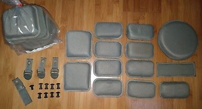 "Military Issue ACH MICH Helmet 3/4"" Pads +Extras, Only Shipping and Fees for AD"