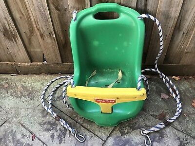 BABY SWING SEAT With Ropes Outdoor Kid Swings Toddler Seat