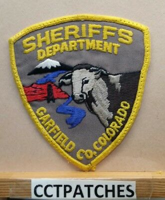 Garfield County, Colorado Sheriff (Police) Shoulder Patch Co