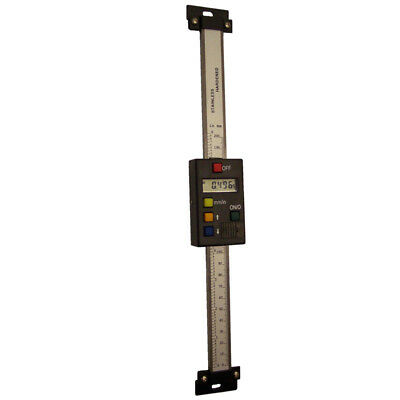 Vertical Linear Digital Scale-200mm / 8 Inch, supplied slotted mounting brackets