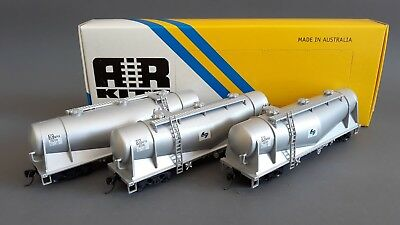Ar Kits Sra Nswgr Nprx Cement Wagons X 3 Kadees Excellent Boxed Ho Gauge(Gt)