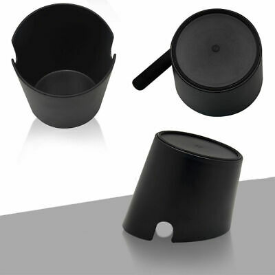 Coffee Knock Box Handle Slag Bucket Espresso Grinds Tamper Waste Bin ABS plastic