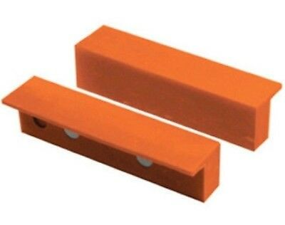 """6"""" Plastic Magnetic Soft Face Jaw Non Marring Pads for Metal Vise Vice"""