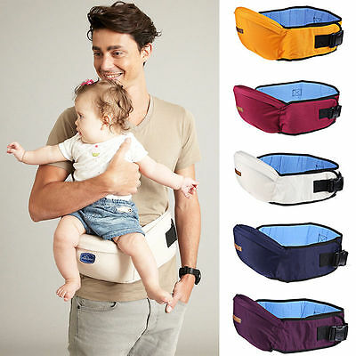 Baby Carrier Hipseat Walkers Baby Sling Backpack Belt Waist Hold Infant Hip Seat