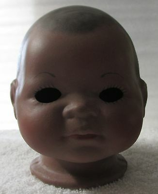 "Putnam Bisque/porcelain ""full Doll Head"" Aa, ""doll Parts"" For Doll Making, Good!"