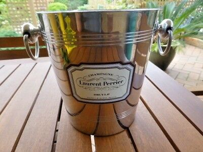 Vintage French Ice Bucket  Champange Laurent Perrier Brut L.P. Tours-Sur-Marne.