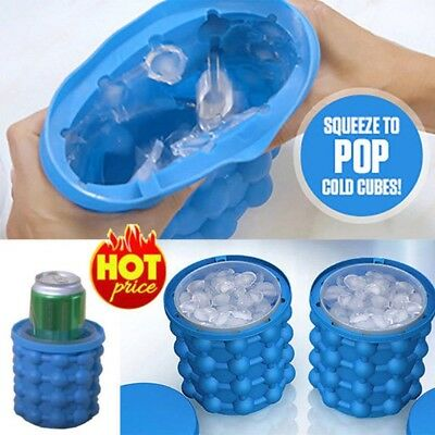 Ice Cube Maker Genie The Revolutionary Space Saving Bar Kitchen Ice Cube Maker