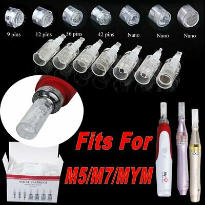 Micro Needle,Cartridge,Tips For Electric Auto Micro Derma M5 M7 MYM Dr Pen Skin