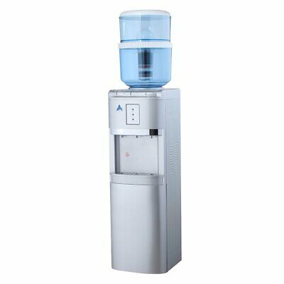 Water Cooler Dispenser Standing 8 stage Filter Purifier 20L Silver