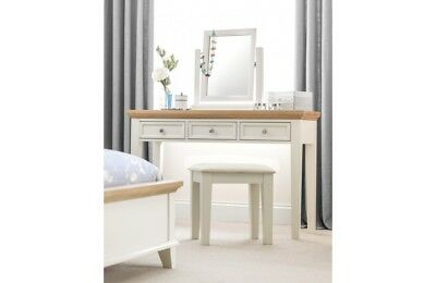 M&S HASTINGS Ivory Dressing Table And Stool Set - £56.00 | PicClick UK