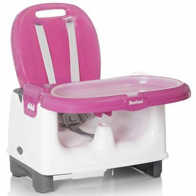 Baninni Booster Seat Yami Pink Baby Safety Feeding Dining Chair BNDT005-PK
