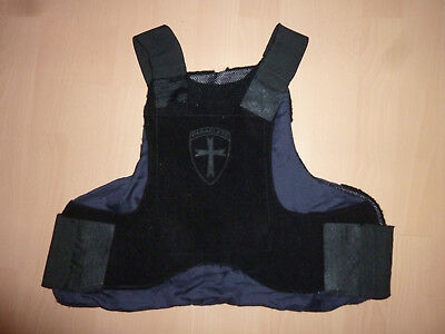 Orig. PARACLETE MSA Concealable Body Armor Schussweste Cover Hülle LG Large