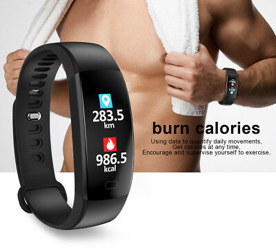 IP68 OROLOGIO SMARTWATCH 4.0 FITNESS TRACKER SPORT BAND per ANDROID iOS GYM RUN