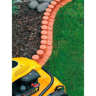 4m Terracotta Garden Grass Lawn Edging Edge Fencing Palisade-Trim Border