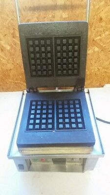 Roller Grill GES20 Commercial Belgian Waffle Maker 4 x 6 Price Reduced to Sell