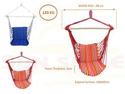 Hanging Chair Hammock Chair Swing Chair Outdoor Home Garden Camping
