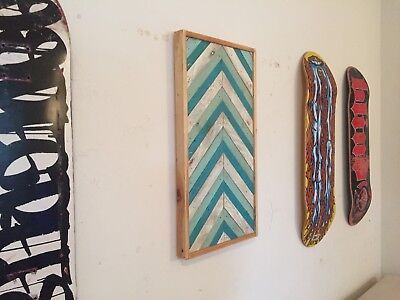 Wall Art - Swell - Pallet wood, recycled art